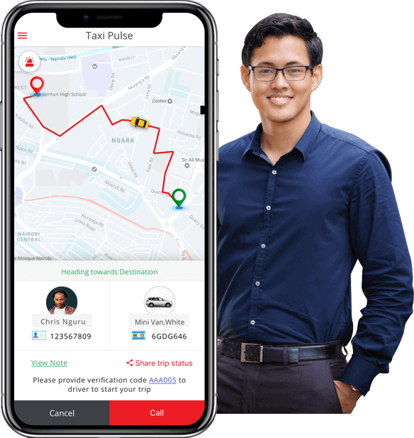 taxi pulse passenger app screens by taxi pulse